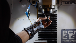 3D-printed wrist brace