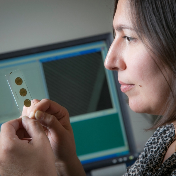 Zehra Parlak, a former postdoctoral student of Professor Stefan Zauscher, has started a new company called Qatch based on research she conducted in his laboratory.