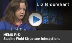 Liz Bloomhart - Studies Fluid Structure Interaction