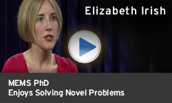 Elizabeth Irish - Enjoys Solving Novel Problems