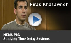 Firas Khasawneh - Studying Time Delay Systems